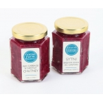 Red Cabbage and Chestnut Chutney