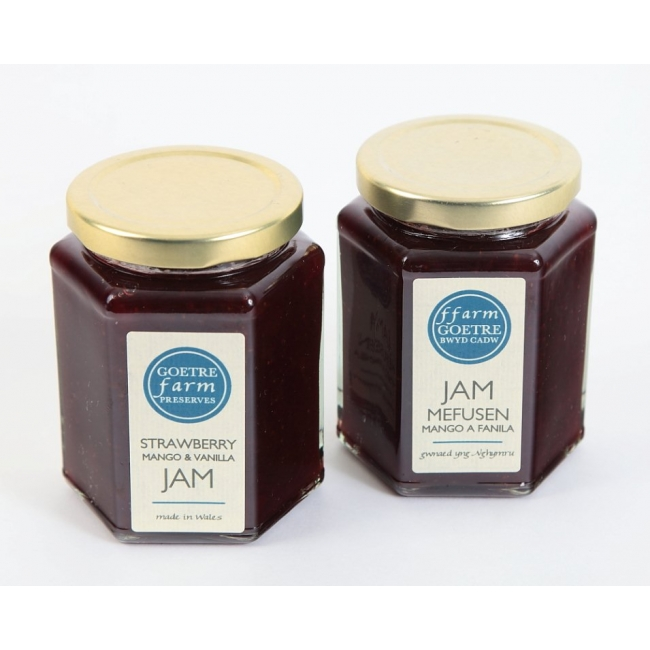 Buy Strawberry, mango & Vanilla Jam :: Jam Mefusen Mango a Fanila
